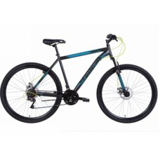 """Велосипед Discovery 29"""" RIDER AM DD рама-21"""" 2021 Black/Blue (OPS-DIS-29-114)"""