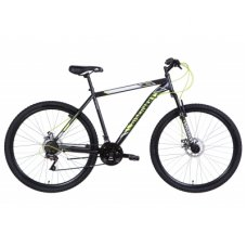 """Велосипед Discovery 29"""" RIDER AM DD рама-19"""" 2021 Black/Yellow (OPS-DIS-29-111)"""