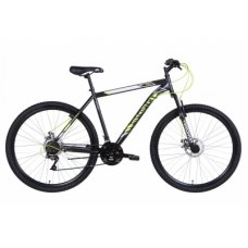 """Велосипед Discovery 29"""" RIDER AM DD рама-21"""" 2021 Silver/Black (OPS-DIS-29-115)"""